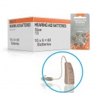 Hearing Aid Batteries for CLARITY® Hearing Aid - Size 13 (60 pcs)
