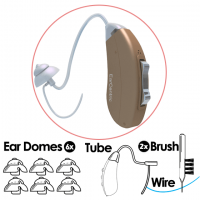 CLARITY200® Accessory Value Bundle - Thin Ear Tube Configuration