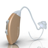 over the ear bte digital Hearing Aids with noise cancellation processor - Left Ear