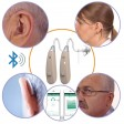 EarCentric Linkx Wireless Bluetooth Hearing Aids with FREE Mobile App for iOS and Android