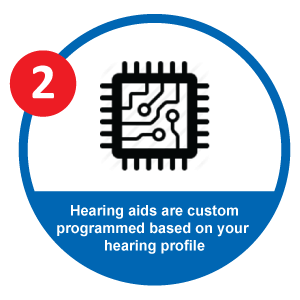 EarCentric PRO200 Hearing Aid Custom Programm Step 2: Custom Program