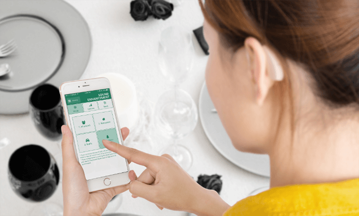 EarCentric Bluetooth Hearing Aids Linkx - App Control